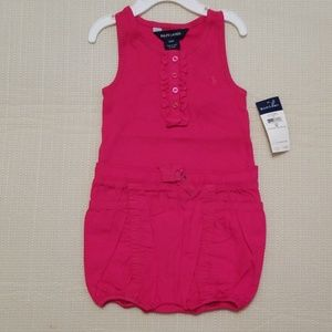 Ralph Lauren infant romper